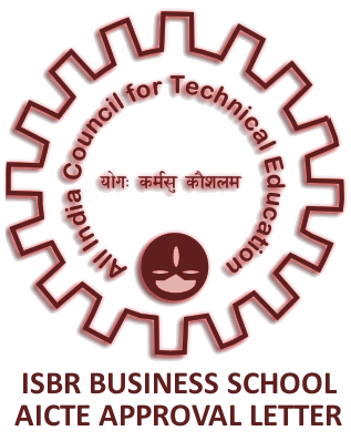 AICTE Approved - ISBR, Top B School in Bangalore