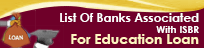 Education Loans - Bank List