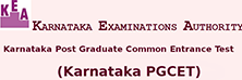 Karnataka Examination Authority - Karnataka PGCET Logo