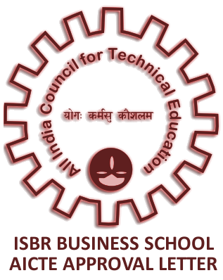 AICTE Approval Letter - ISBR